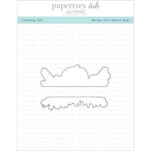 Papertrey Ink Framing Fall Die