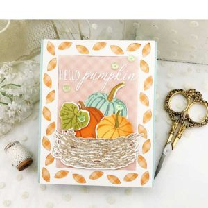 Papertrey Ink Hello Pumpkin Die Set class=