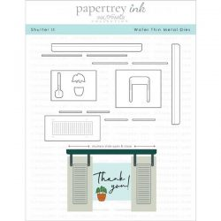 Papertrey Ink Shutter It Die Set