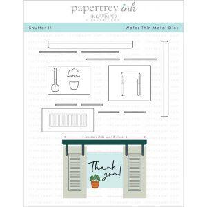 Papertrey Ink Shutter It Die Set