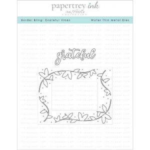 Papertrey Ink Border Bling: Grateful Vines Die