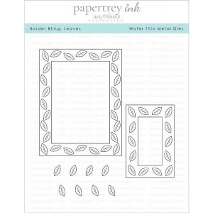 Papertrey Ink Border Bling: Leaves Die