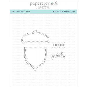 Papertrey Ink In Stitches: Acorn Die
