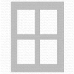 My Favorite Things Window Panes Stencil