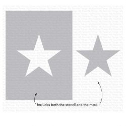 My Favorite Things Star Extraordinaire Stencil