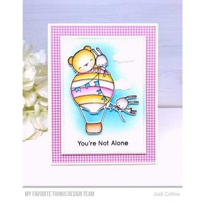 "My Favorite Things Petite Gingham Paper Pad - 6"" x 6"" class="