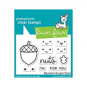 Lawn Fawn Big Acorn Stamp Set