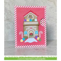 Lawn Fawn Tiny Gingerbread Stamp