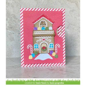 Lawn Fawn Tiny Gingerbread Stamp class=