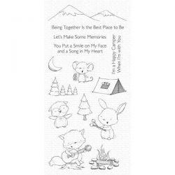 My Favorite Things Happy Campers Stamp Set