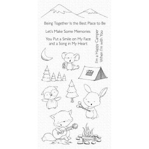 My Favorite Things Happy Campers Stamp Set
