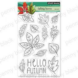 Penny Black Falling Leaves Stamp Set