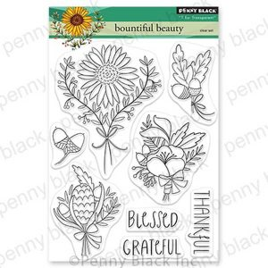 Penny Black Bountiful Beauty Stamp Set