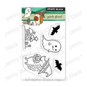 Penny Black Goofy Ghoul Stamp Set