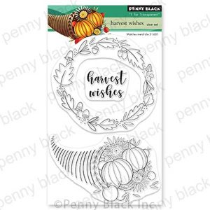 Penny Black Harvest Wishes Stamp Set