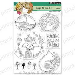 Penny Black Hugs & Cuddles Stamp Set
