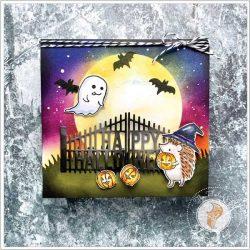 Penny Black Goofy Ghoul Stamp Set