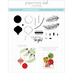 Papertrey Ink Tree Essentials Stamp Set