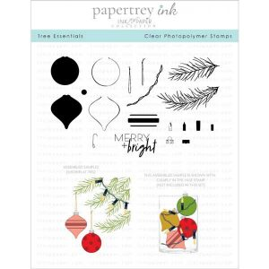 Papertrey Ink Tree Essentials Stamp Set