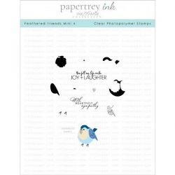 Papertrey Ink Feathered Friends Mini 4 Stamp Set