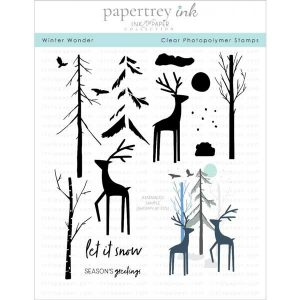 Papertrey Ink Winter Wonder Stamp Set