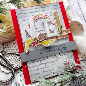 Papertrey Ink The Joy Of Noel Stamp Set class=