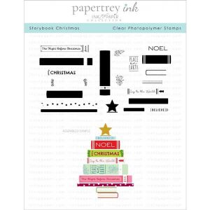 Papertrey Ink Storybook Christmas Stamp Set