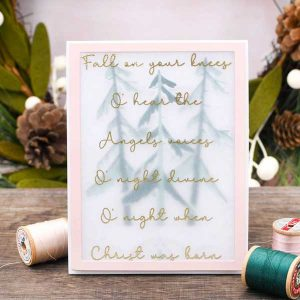 Papertrey Ink O' Holy Night Stamp Set class=