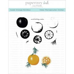 Papertrey Ink Sweet Orange Holidays Stamp Set