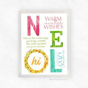 Papertrey Ink Inside Greetings: Warmth Mini Stamp Set class=
