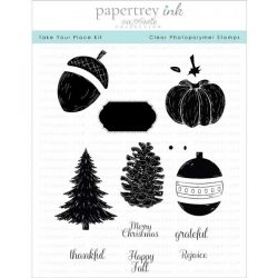 Papertrey Ink Take Your Place Stamp Set