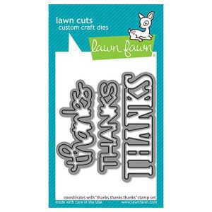 Lawn Fawn Thanks Thanks Thanks Lawn Cuts