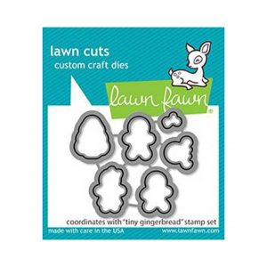 Lawn Fawn Tiny Gingerbread Lawn Cuts