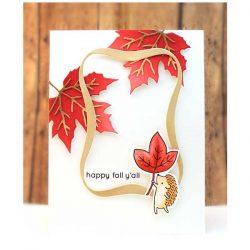Penny Black Fall Foliage Dies