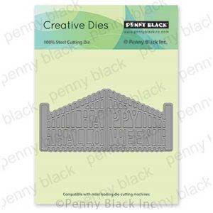 Penny Black Halloween Gate Die