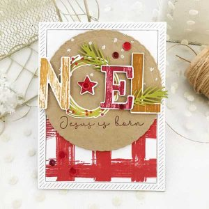 "Papertrey Ink The Joy Of Noel Die <span style=""color:red;"">Reserve – more on the way</span> class="