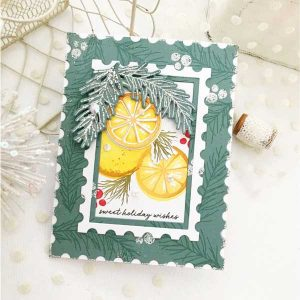 Papertrey Ink Sweet Orange Holidays Die class=
