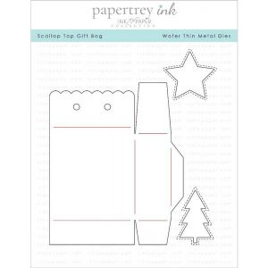 Papertrey Ink Scallop Top Gift Bag