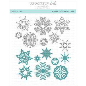 Papertrey Ink Starflakes Die