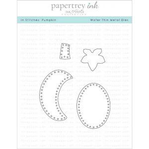 Papertrey Ink In Stitches: Pumpkin Die