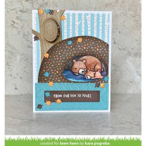 Lawn Fawn Into The Woods Remix Petite Paper Pack class=