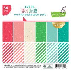 Lawn Fawn Let It Shine Petite Paper Pack