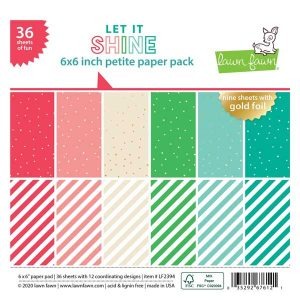 Lawn Fawn Let It Shine Petite Paper Pack