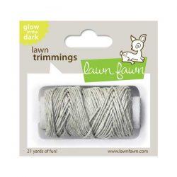 Lawn Fawn Trimmings Glow-In-The-Dark Hemp Cord