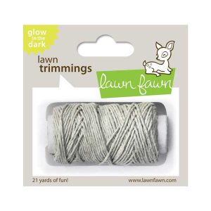 Lawn Fawn Trimmings Glow-In-The-Dark Hemp Cord