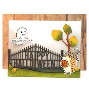 Penny Black Halloween Gate Die class=