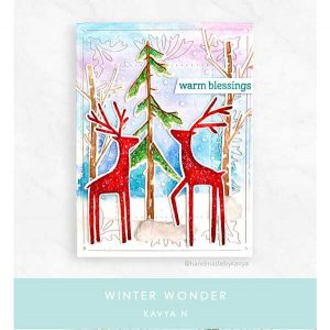 Papertrey Ink Winter Wonder Stamp Set class=