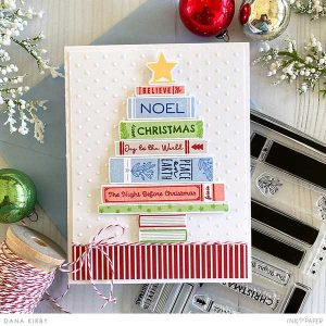 Papertrey Ink Storybook Christmas Stamp Set class=