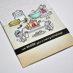 Lawn Fawn A Creature Was Stirring Stamp Set class=
