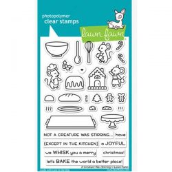 Lawn Fawn A Creature Was Stirring Stamp Set